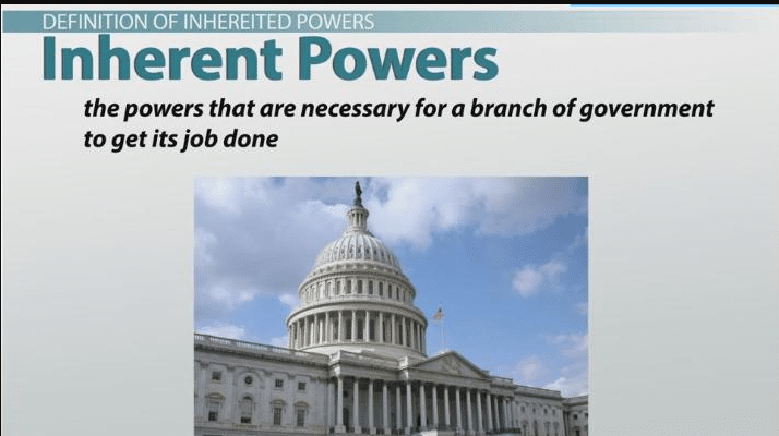 Inherent Powers